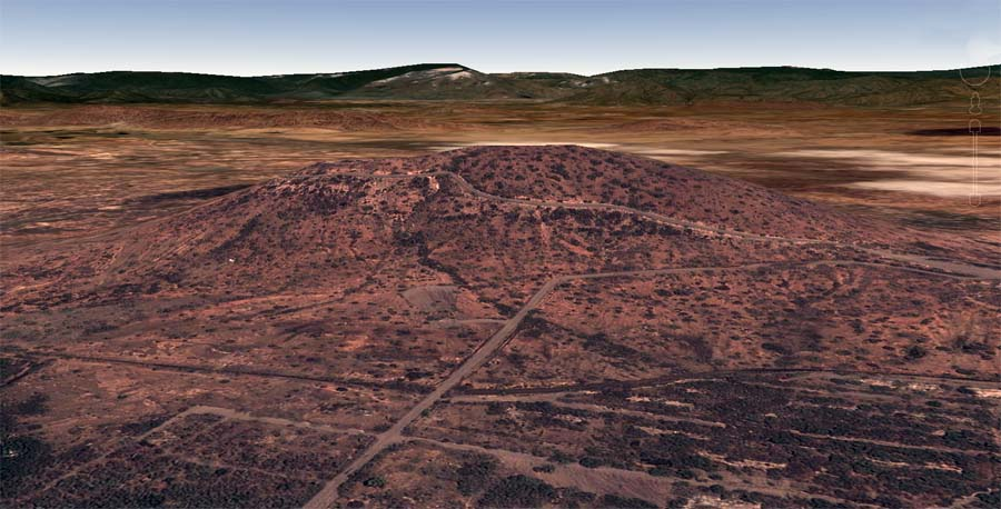 4. Google Satellite image (current): Nui Dat hill.