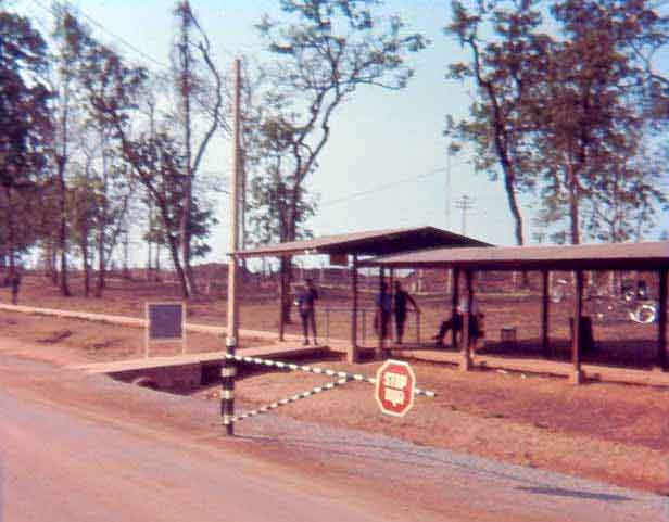 1. U-Tapao RTAFB, Main Gate. Closeup. Photographer: Unknown.