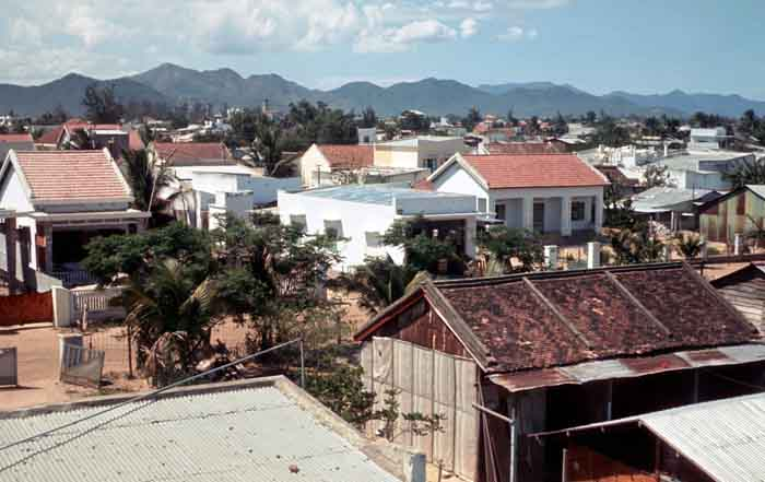 5. Nha Trang AB, K-9. View from above Tower. Photo by: Joe Russo, NT, 14th SPS; PR, 35th SPS K9: Prince 522M. 1969-1971.