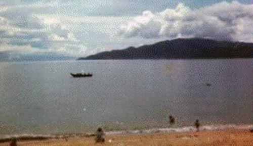 9. Nha Trang AB: Hon Tri Island. Photo by Pat Houseworth, 1969-1970.