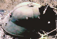 NVA Pith Helmet - KIA.