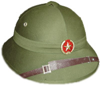 NVA Pith Helmet - New.