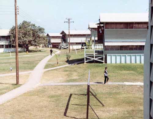 Phu Cat AB, Original Barracks.