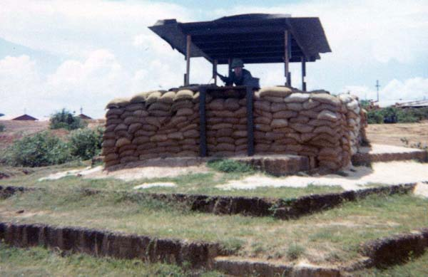 9a. Phu Cat AB, Perimeter Bunker M-60. 1969. Photo by: David Hayes, LM 462, CRB, 12th SPS; PC, 37th APS, 1967-1968.