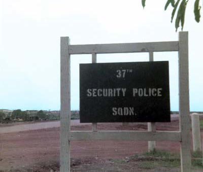 Phu Cat, 37th SPS entrance.