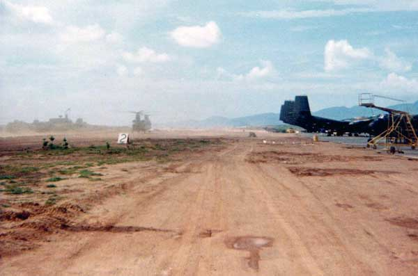 Original flight line.