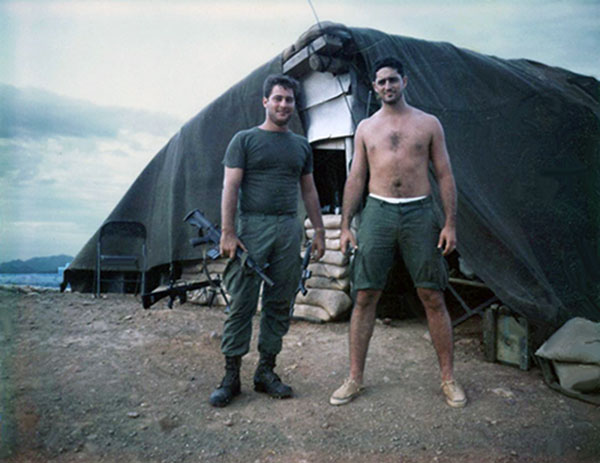 2. Phu Cat AB: Doug Davis and Moulton. Photo by: Doug D. Davis, 1968.