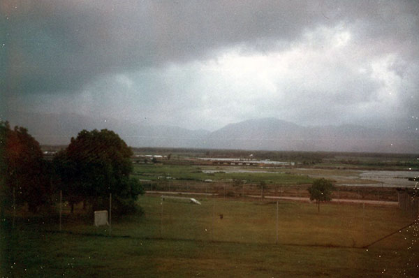 17. Phu Cat AB: Post 151, View, East, toward Training Area. Photo by: Doug D. Davis, 1968.