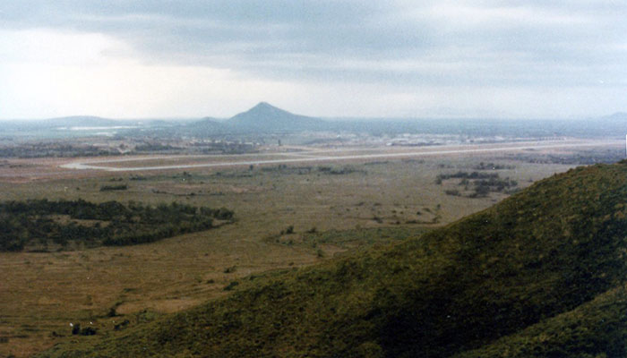 18. Phu Cat AB: Post 151, View, Southeast, toward Base. Photo by: Doug D. Davis, 1968.