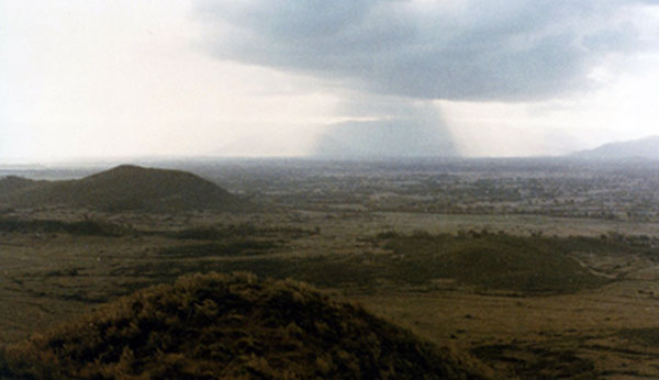 19. Phu Cat AB: Post 151, View, SSW. Photo by: Doug D. Davis, 1968.