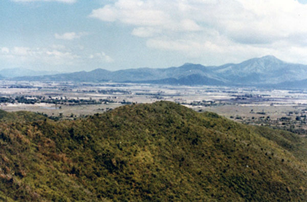 20. Phu Cat AB: Post 151, View, SW. Photo by: Doug D. Davis, 1968.