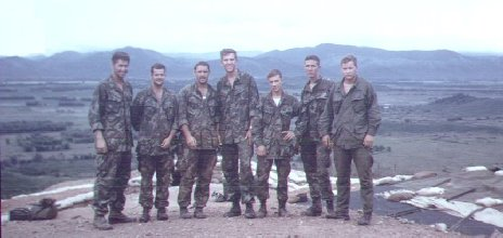 [1] Phu Cat (Dec 4, 1968):My fire-team on top of Hill 151.