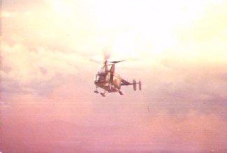 [4] Phu Cat - Hill 151, Chopper Pedro approaches.