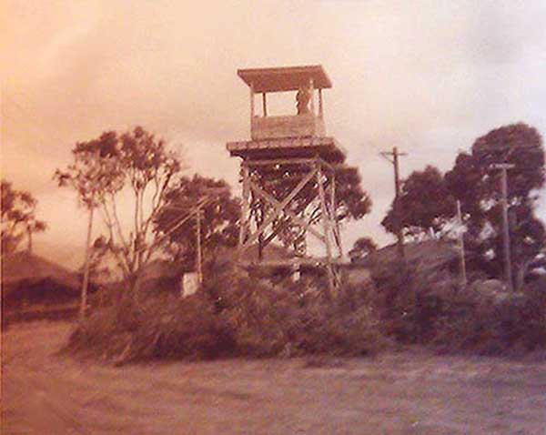 15. Phu Cat AB, Perimeter Tower view. Photo by: John P. Webster.
