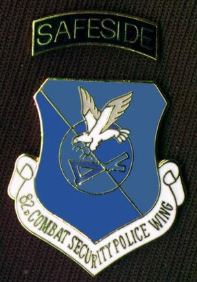 1041st, 821st, 822nd, and 823d SP Squadron Emblem, Safeside