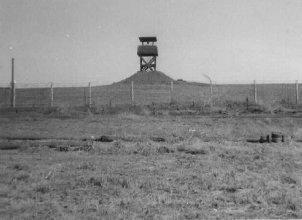 11. Pleiku AB, Perimeter Tower. 1967-1968. Photo by: Pat Dunne, LM 40, PK, 633rd SPS. 1968.
