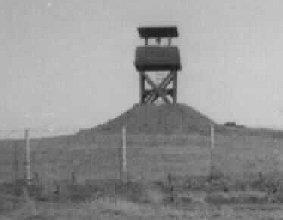 12. Pleiku AB, Perimeter Tower. Close Up. 1967-1968. Photo by: Pat Dunne, LM 40, PK, 633rd SPS. 1968.
