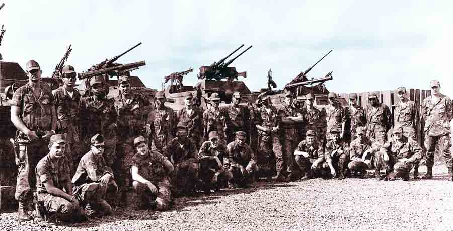 1. Pleiku AB, Heavy Weapons, QRT. 1969. Photo by: Leslie R. (Les) Carver, BH, 3rd SPS; PK, 633rd SPS, 1968-1969.