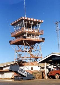 4. Pleiku AB, Control Tower. 1968-1969. Photo by: Clifton Larry Sutherland (VSPA-111), PR, 822nd CSPS. 1968-1969.