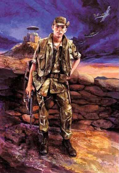 Pleiku - 822d CSPS, Larry Sutherland, in Vietnam, by his brother, Gary Sutherland