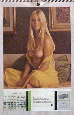 Playboy: January 1970, Connie Kreski, © 1970 Playboy, Inc.