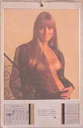 Playboy: November 1970, Majken Haugedal, © 1970 Playboy, Inc.