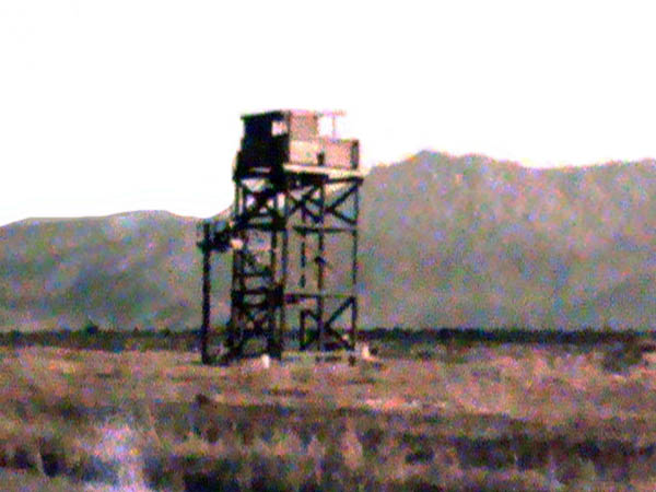 1. Phan Rang AB: 35th SPS: 50 cal Perimeter Tower. 1969 Photo by: Jim Sullivan.