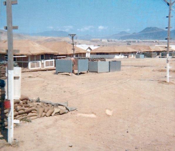 3. Phan Rang AB: Piss Tube at SP hooch area. Photo by: Van Digby, 1967-1968