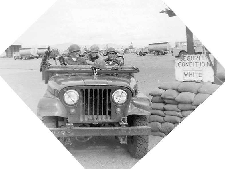 4. Phan Rang AB: C-2 Strike Team with LEwis Grable and Van Digby. Photo by: Van Digby, 1967-1968
