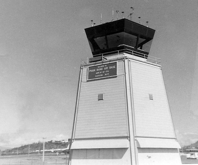 7. Phan Rang AB: Control Tower. Photo by: Van Digby, 1967-1968