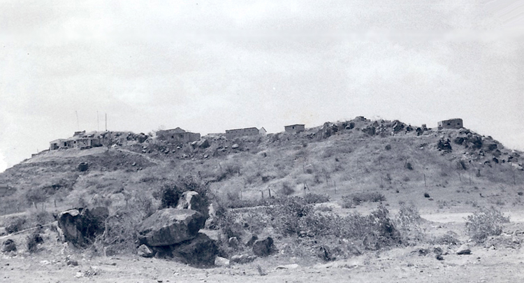 8. Phan Rang AB: PF or RF Outpost, north of Thop Chan. Photo by: Van Digby, 1967-1968