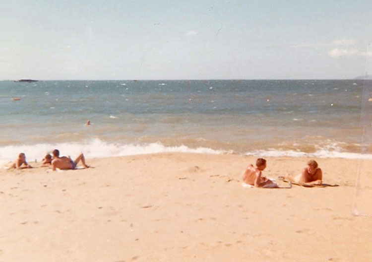 11. Phan Rang AB: Beach. Photo by: Van Digby, 1967-1968.
