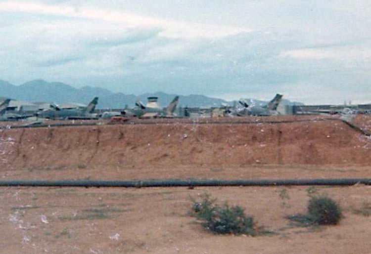 12. Phan Rang AB: F-100 Refueling Area. Photo by: Van Digby, 1967-1968.