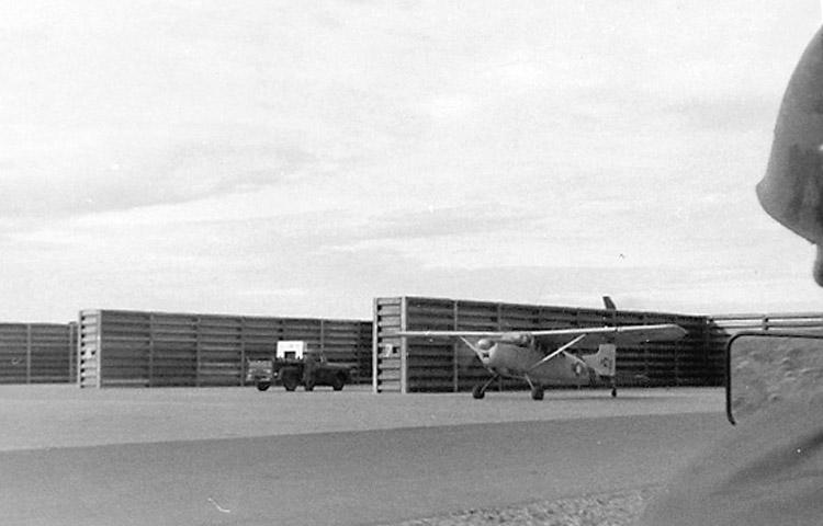 13. Phan Rang AB: Revetment Area. Photo by: Van Digby, 1967-1968.
