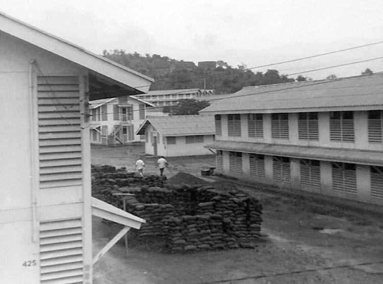 17. Phan Rang AB: Barracks Area under construction. Photo by: Van Digby, 1968.
