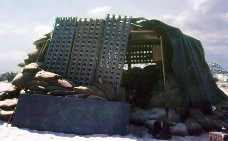 18. Phan Rang AB: Beach Bunker post. 1966-1967. Photo by: Robert Claud, PR, 35th SPS, 1966-1967.