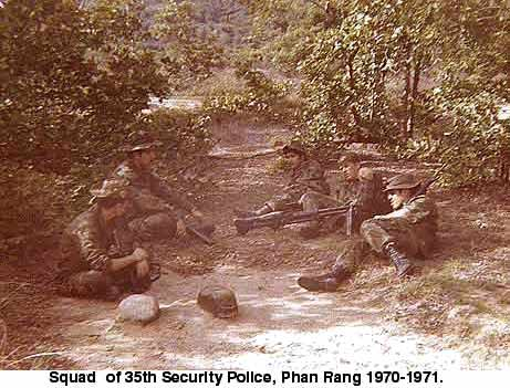 Phan Rang, 35th SPS taking a break
