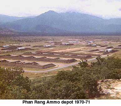 Phan Rang, 35th SPS Barracks area