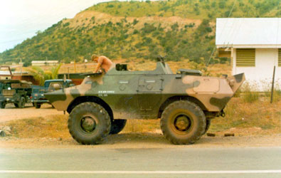 12. Phan Rang AB, SP Capt. Gover, and 1LT (?). 1967.
