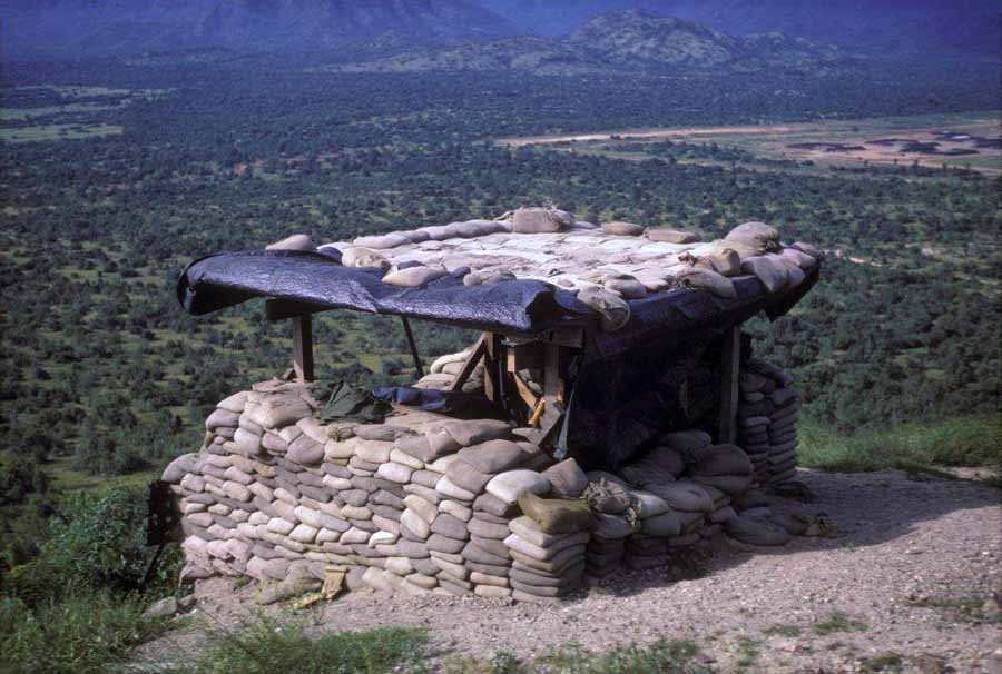 3. Phan Rang AB: Nui Dat Hill, 366th APS: OP-2 Bunker, atop Nui Dat hill.