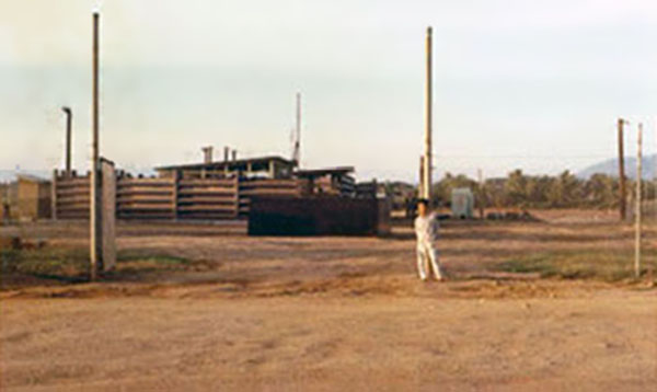 6. Phan Rang AB: Gate Bunker and revetment. Photo by Gary Phillips. c1966.