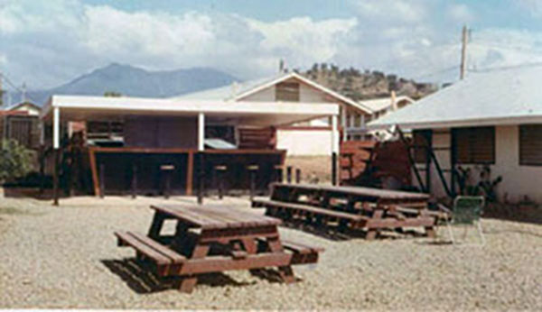 23. Phan Rang AB: Base chow hall. Photo by Gary Phillips. c1966.