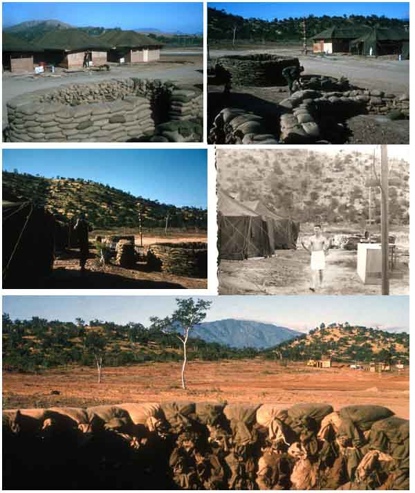 10. Phan Rang AB: Fortifying Bunker. 6258th APS. 1966-1967. Photo by: Tom Mullen, PR, 366th SPS; 35th SPS. 1966-1967.