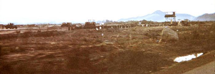 5. Phan Rang AB: Perimeter Tower, Delta Sector. 1968-1970. Photo by: Tom Parsons, PR, PR, 35th SPS. 1968-1970.