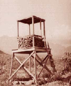 4. Phan Rang AB: Perimeter Tower. 1967-1968. Photo by: Carl Tripp, PR, 35th SPS; BH, 3rd SPS. 1967-1968.