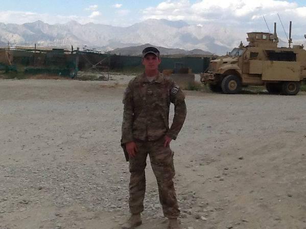 Photo: SSgt Todd James Lobraico, 22. SFS Bagram Air Field, Afghanistan. 2013.