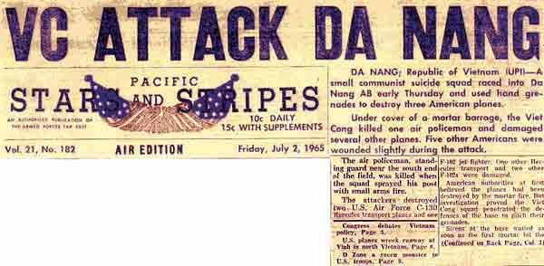 Bangkok Post Article: Suicide Unit Hits Da Nang Base!