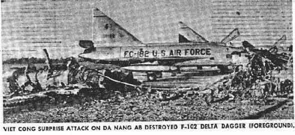 Bangkok Post Photo: F-102 exploded!