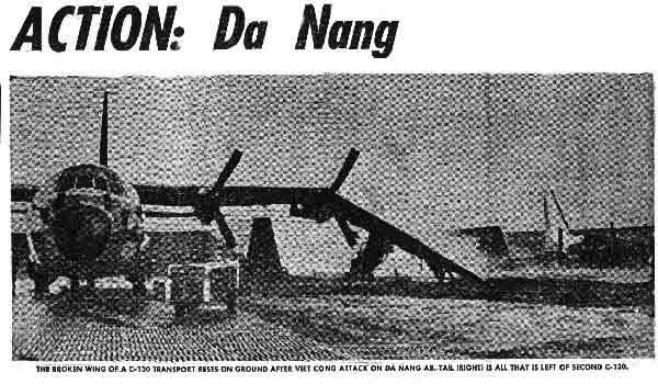 Bangkok Post Photo: (1) C-130 Damaged, (1) C-130 Destroyed!