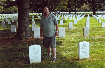 VSPA LM 150, Lew Goldberg, discovered that three of our AP/SP KIA/LOD were buried at the Long Island National Cemetery, in Famingdale, New York.